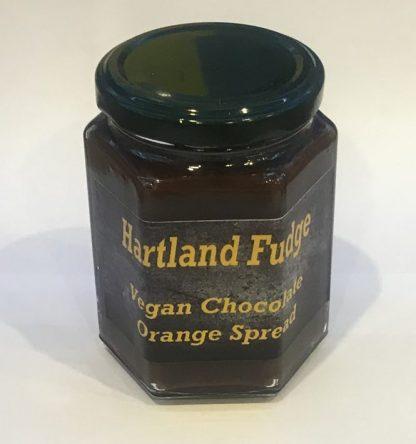 Vegan Chocolate Orange Fudge Spread